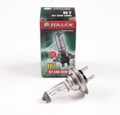 Лампа H7 24V 70W, Zollex